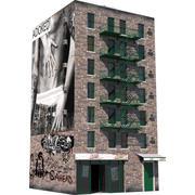 Budynek Nowego Jorku 5 3d model