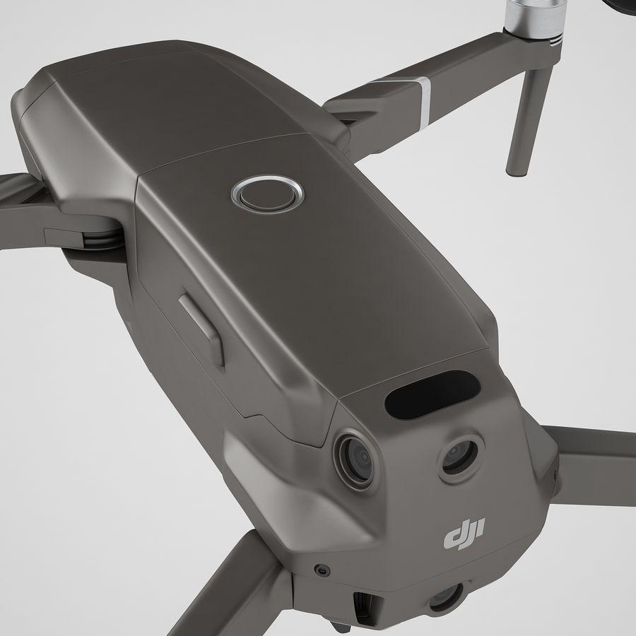 DJI Mavic 2 Zoom Brown royalty-free 3d model - Preview no. 37
