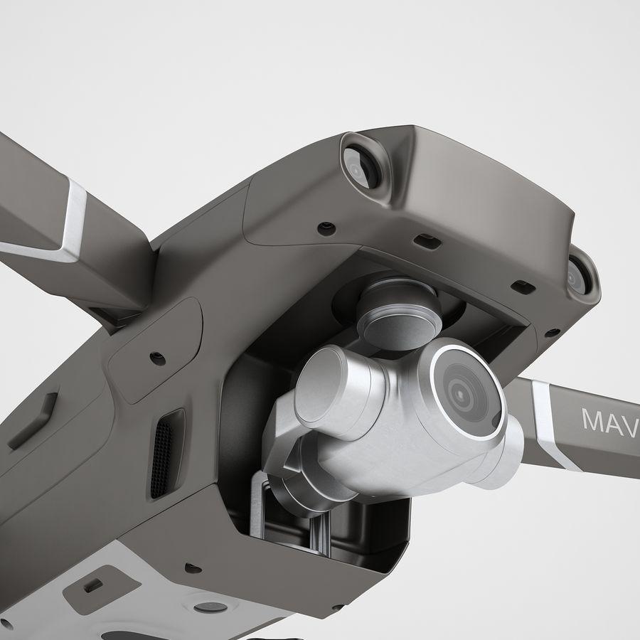 DJI Mavic 2 Zoom Brown royalty-free 3d model - Preview no. 21