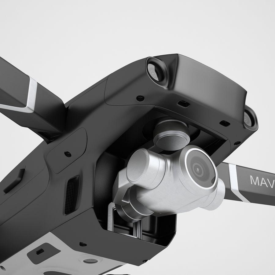 DJI Mavic 2 Zoom Black royalty-free 3d model - Preview no. 21