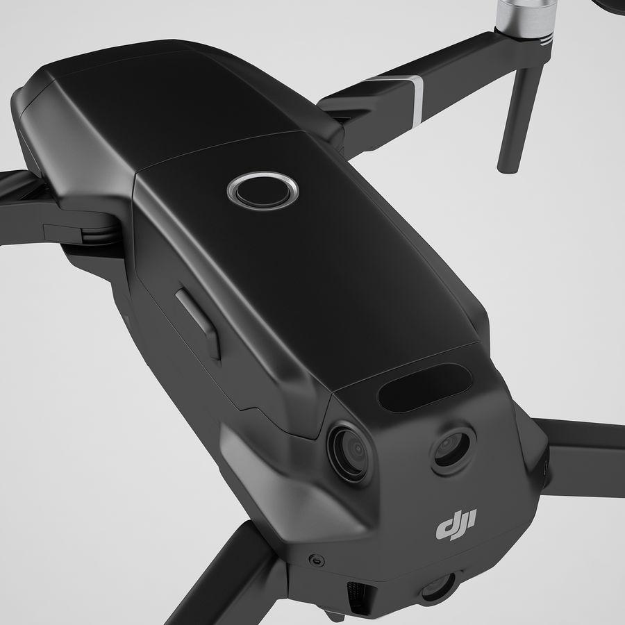 DJI Mavic 2 Zoom Black royalty-free 3d model - Preview no. 37