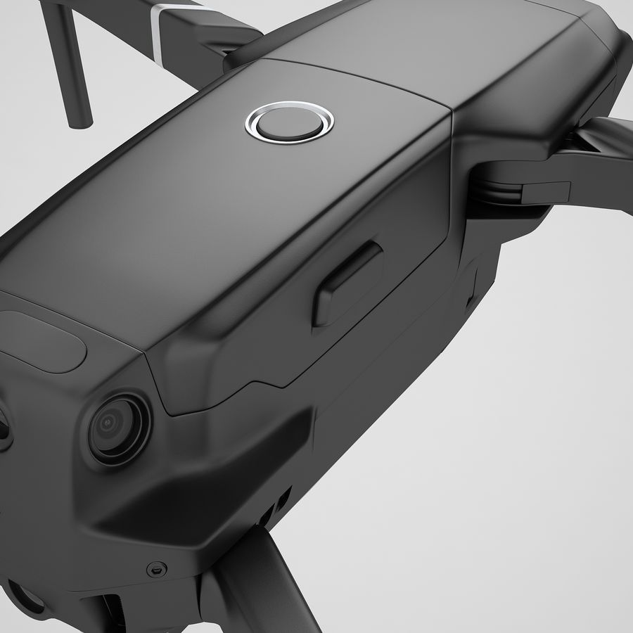 DJI Mavic 2 Zoom Black royalty-free 3d model - Preview no. 29