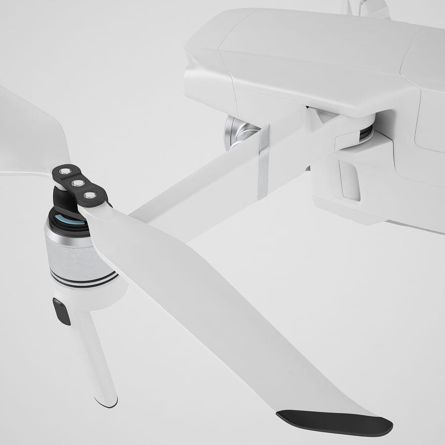 DJI Mavic 2 Zoom White royalty-free 3d model - Preview no. 35