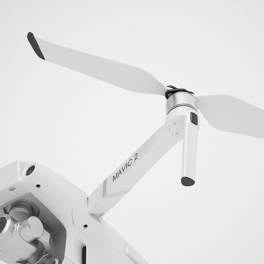 DJI Mavic 2 Zoom White royalty-free 3d model - Preview no. 19