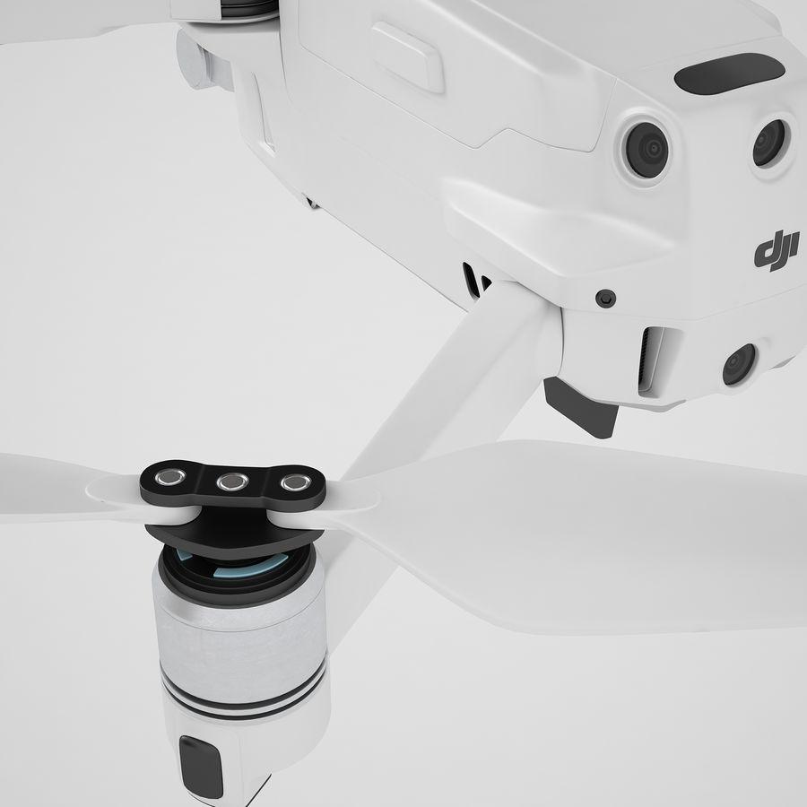 DJI Mavic 2 Zoom White royalty-free 3d model - Preview no. 33