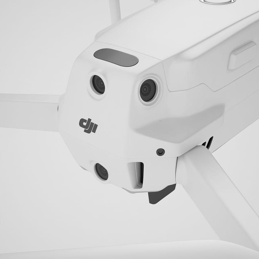 DJI Mavic 2 Zoom White royalty-free 3d model - Preview no. 31