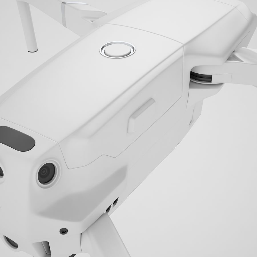 DJI Mavic 2 Zoom White royalty-free 3d model - Preview no. 29