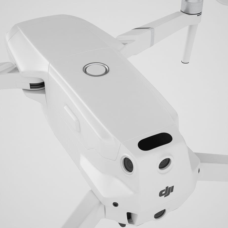 DJI Mavic 2 Zoom White royalty-free 3d model - Preview no. 37