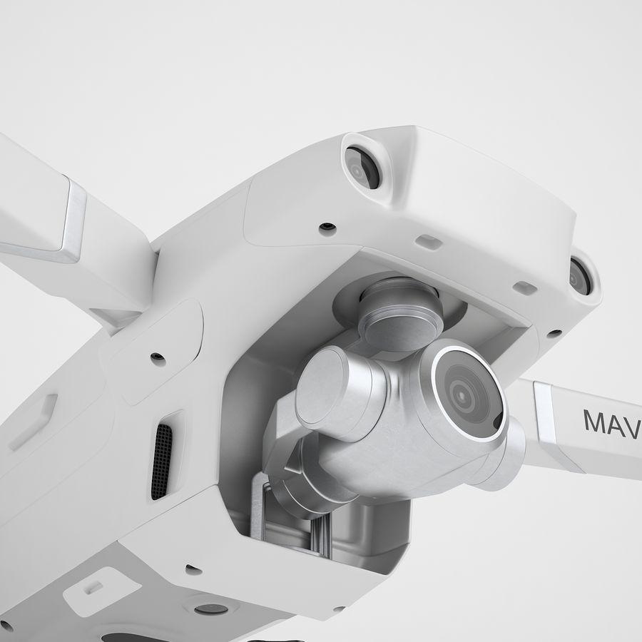 DJI Mavic 2 Zoom White royalty-free 3d model - Preview no. 21