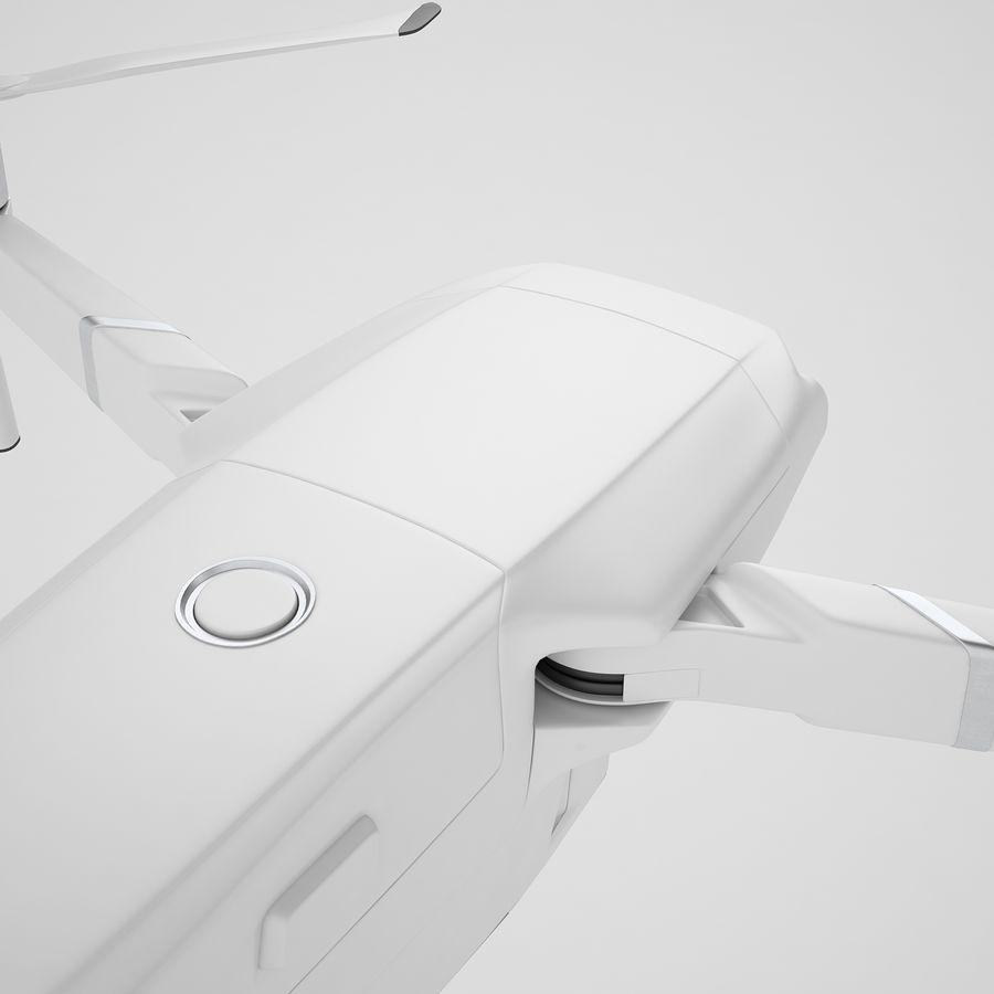 DJI Mavic 2 Zoom White royalty-free 3d model - Preview no. 27