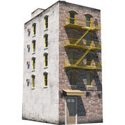 NYC Building 6 3d model