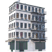 NYC Building 7 3d model