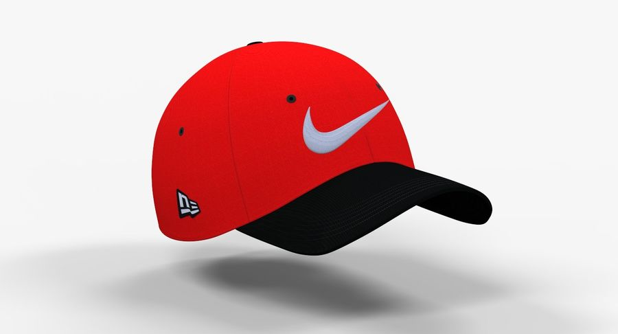 Terrible Sudán Galaxia  Baseball Cap with Embroidery Nike Logo 3D Model $49 - .max .obj .fbx .c4d  .unknown - Free3D