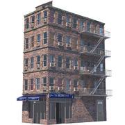 Edificio di New York 10 3d model