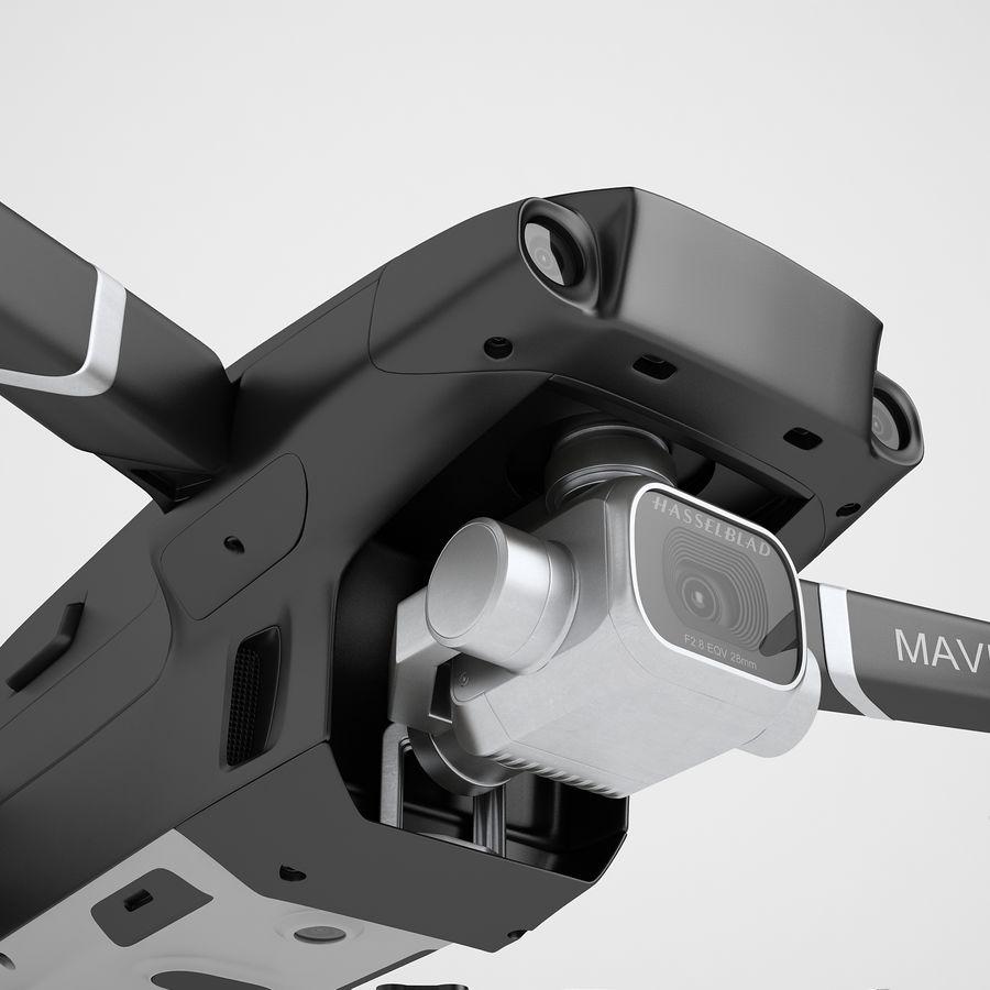 DJI Mavic 2 Pro Black royalty-free 3d model - Preview no. 21