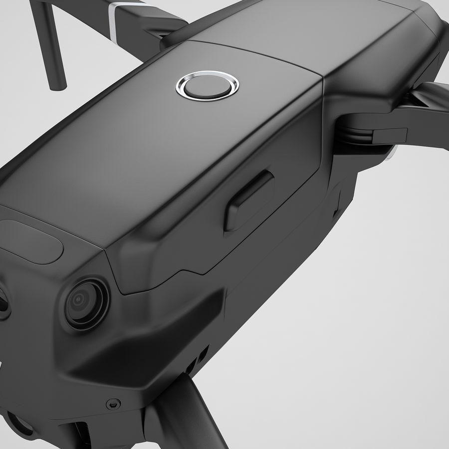 DJI Mavic 2 Pro Black royalty-free 3d model - Preview no. 29