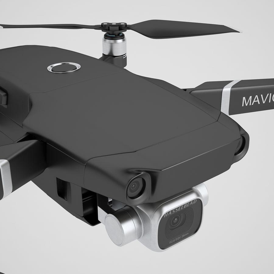 DJI Mavic 2 Pro Black royalty-free 3d model - Preview no. 25