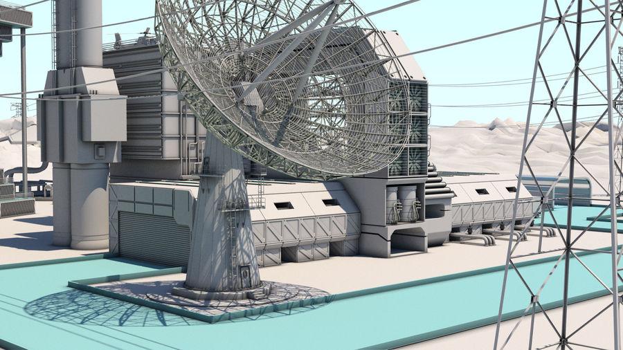 Futuristische exoplanetarische Einrichtung royalty-free 3d model - Preview no. 20