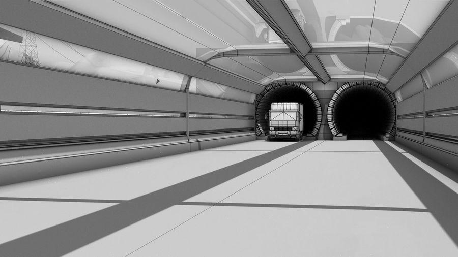 Futuristische exoplanetarische Einrichtung royalty-free 3d model - Preview no. 11