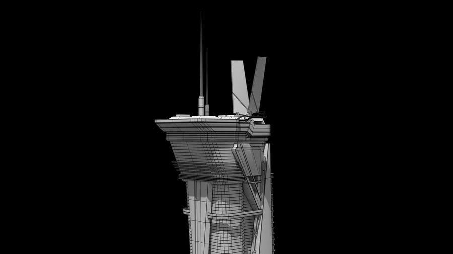 Futuristische exoplanetarische Einrichtung royalty-free 3d model - Preview no. 31