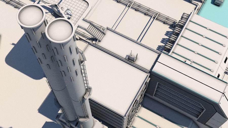 Futuristische exoplanetarische Einrichtung royalty-free 3d model - Preview no. 22