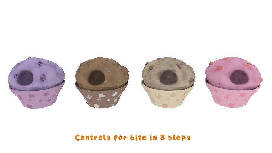 Cartoon Assets Pack royalty-free 3d model - Preview no. 51