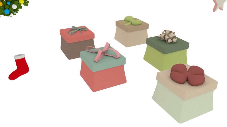 Cartoon Assets Pack royalty-free 3d model - Preview no. 5