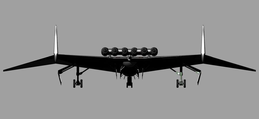 Arado Ar - E555 (1943) royalty-free 3d model - Preview no. 12
