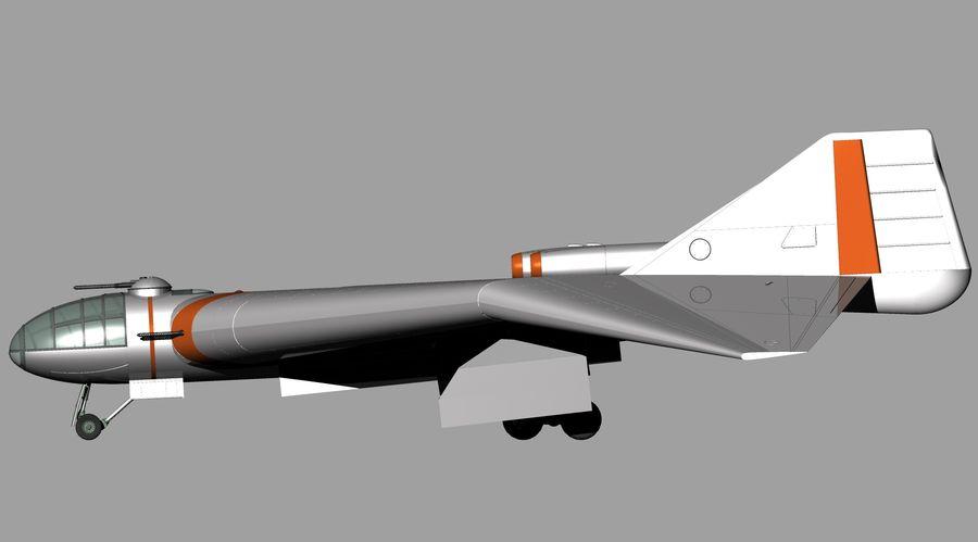 Arado Ar - E555 (1943) royalty-free 3d model - Preview no. 13