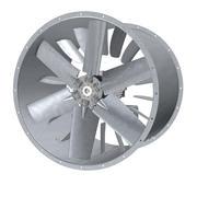 详细的工业轴流风机 3d model
