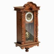 Horloge pendule rétro 3d model