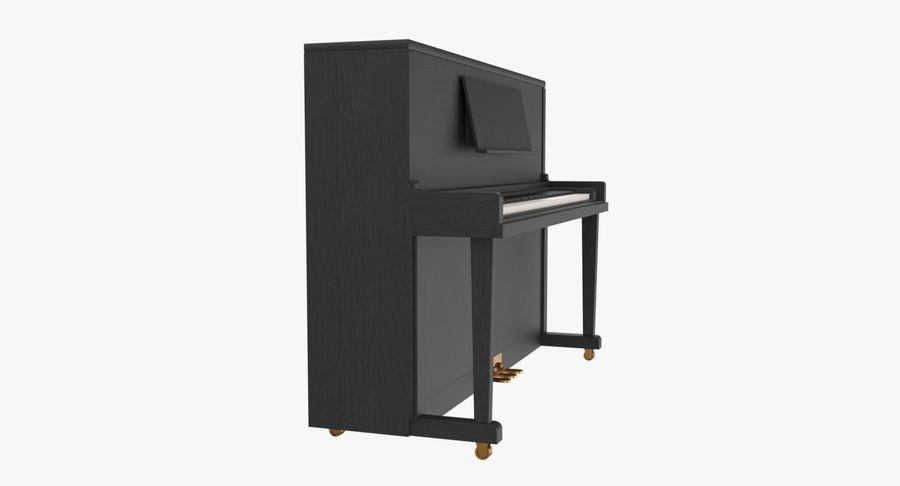 Klavier royalty-free 3d model - Preview no. 3