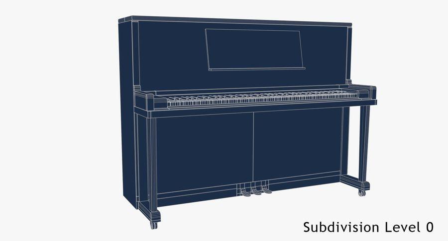 Klavier royalty-free 3d model - Preview no. 7