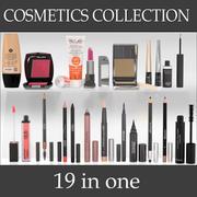 化粧品コレクション 3d model