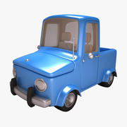 Karikatür kamyon 3d model