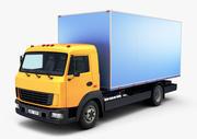일반 트럭 상자 v 1 3d model
