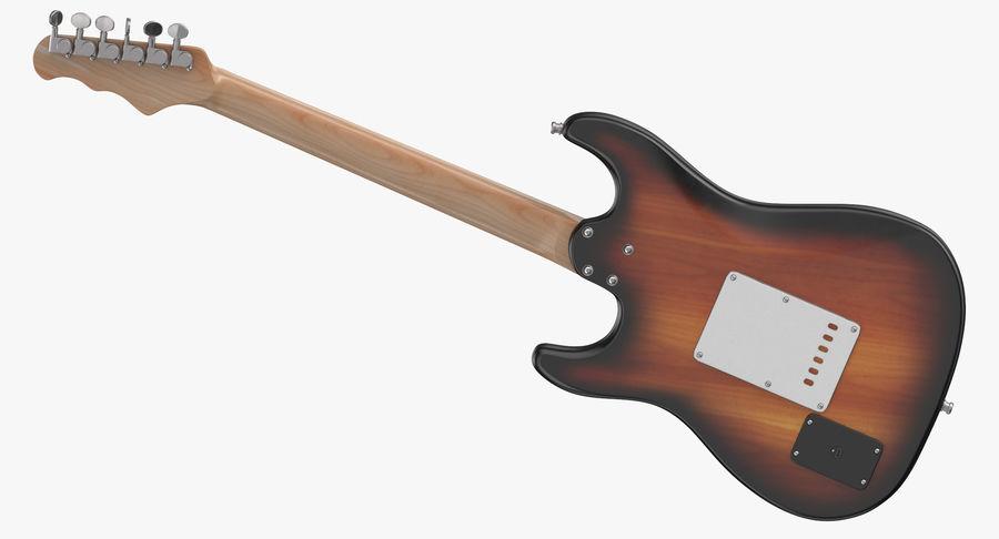 Guitare électrique royalty-free 3d model - Preview no. 9