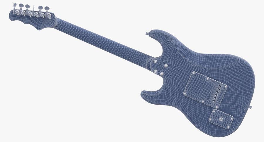 Guitare électrique royalty-free 3d model - Preview no. 14