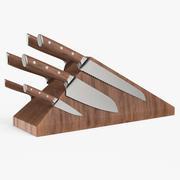 Bloc de couteau 3d model