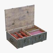 Военная коробка 3d model