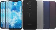 Nokia 8.1 (Nokia 7X) Tutti i colori 3d model