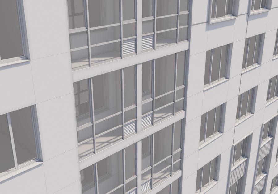Edificio alto royalty-free modelo 3d - Preview no. 23