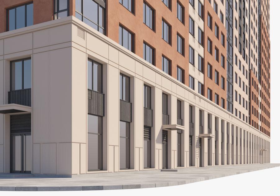 Edificio alto royalty-free modelo 3d - Preview no. 2
