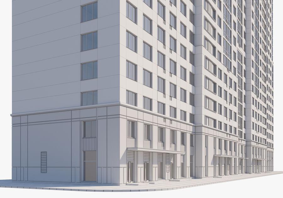 Edificio alto royalty-free modelo 3d - Preview no. 18