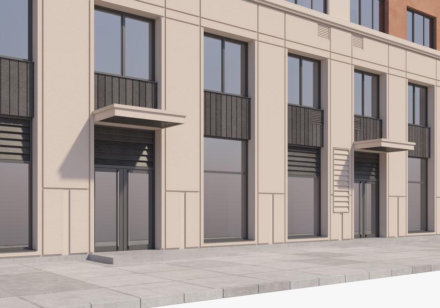 Edificio alto royalty-free modelo 3d - Preview no. 7