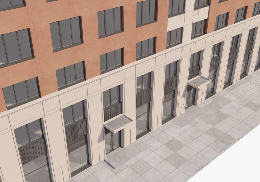 Edificio alto royalty-free modelo 3d - Preview no. 6