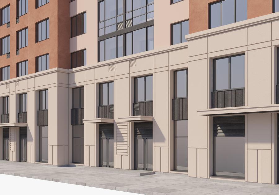 Edificio alto royalty-free modelo 3d - Preview no. 12