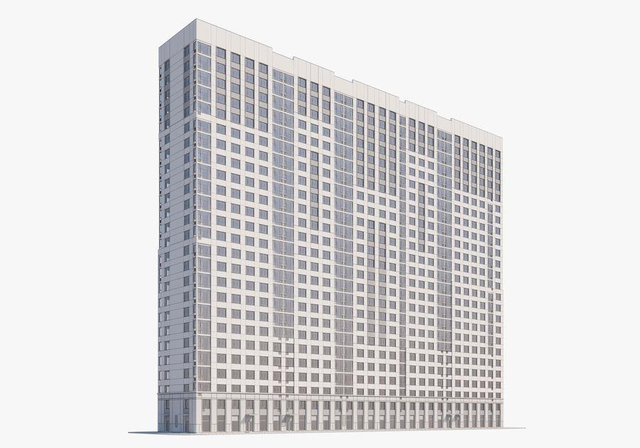 Edificio alto royalty-free modelo 3d - Preview no. 14