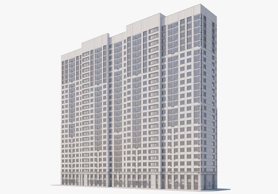Edificio alto royalty-free modelo 3d - Preview no. 17