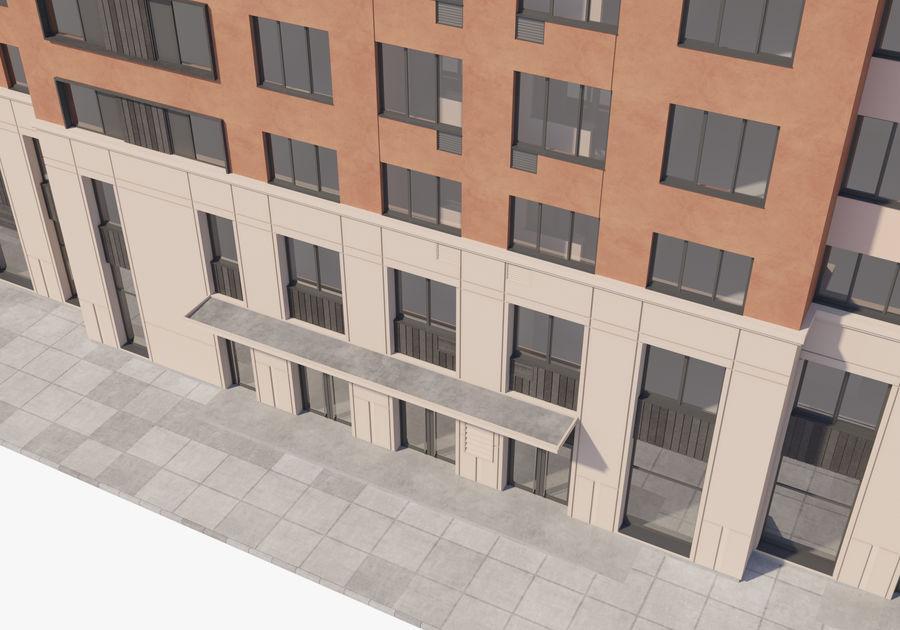 高层建筑 royalty-free 3d model - Preview no. 13